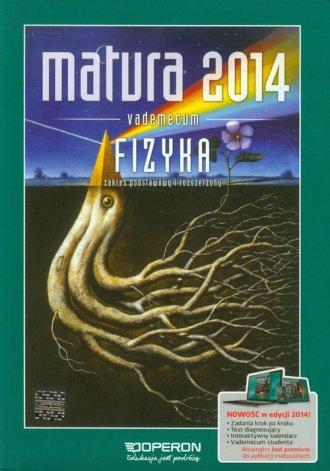 Matura 2014. Vademecum. Fizyka. - okładka podręcznika