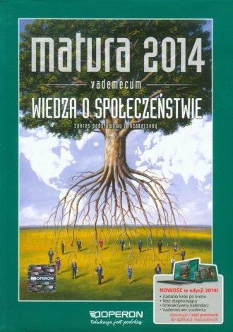 Matura 2014. Wiedza o społeczeństwie. - okładka podręcznika