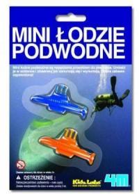Mini łodzie podwodne - zdjęcie zabawki, gry