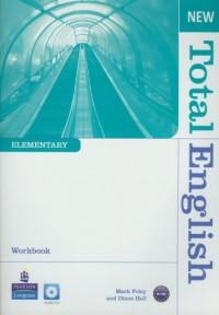 New Total. English Elementary Workbook (+ CD) - okładka podręcznika
