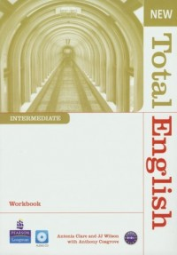 New Total English. Intermediate. Workbook (+ CD) - okładka podręcznika