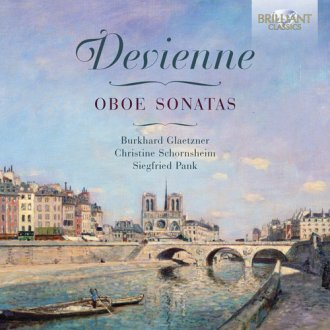 Oboe Sonatas - okładka płyty