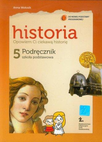 Opowiem Ci ciekawą historię. Historia. - okładka podręcznika