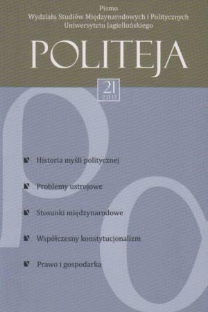Politeja nr 21/2012 - okładka książki