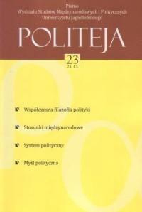 Politeja nr 23/2013 - okładka książki