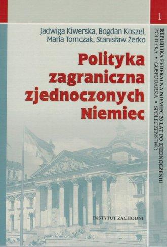 Polityka zagraniczna zjednoczonych - okładka książki