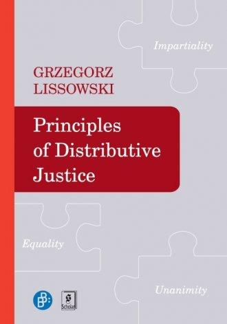 Principles of Didtributive Justice - okładka książki
