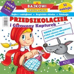 Przedszkolaczek i Czerwony Kapturek. - okładka książki