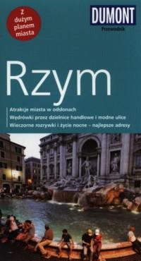 Rzym. Przewodnik z planem miasta - okładka książki