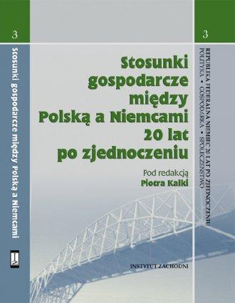 Stosunki gospodarcze między Polską - okładka książki