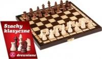 Szachy klasyczne drewniane - zdjęcie zabawki, gry
