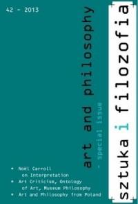 Sztuka i filozofia nr 42/2013 - okładka książki