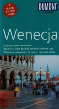 Wenecja. Przewodnik z planem miasta - okładka książki
