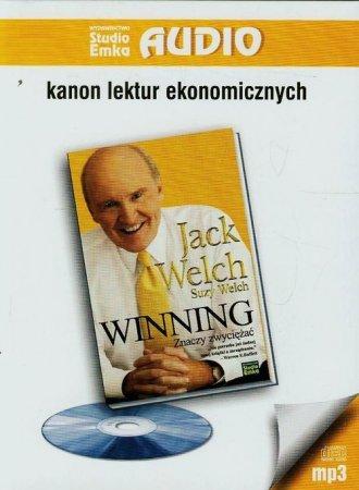 Winning znaczy zwyciężać (CD mp3) - pudełko audiobooku