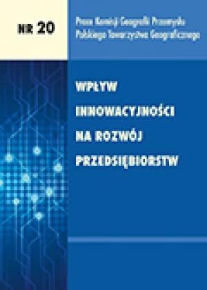 Wpływ innowacyjności na rozwój - okładka książki