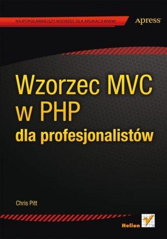 Wzorzec MVC w PHP dla profesjonalistów - okładka książki