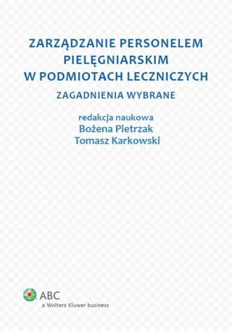 Zarządzanie personelem pielęgniarskim - okładka książki