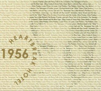 1956. Heartbreak Hotel - okładka płyty