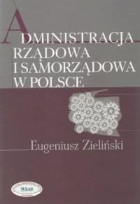 Administracja rządowa i samorządowa - okładka książki