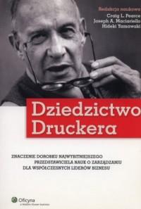 Dziedzictwo Druckera - okładka książki
