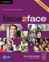 face2face. Upper-Intermediate Students Book (+ DVD) - okładka podręcznika