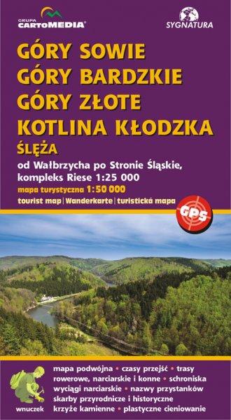 Góry Sowie, Bardzkie, Złote Kotlina - okładka książki