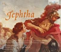 Jephtha - okładka płyty