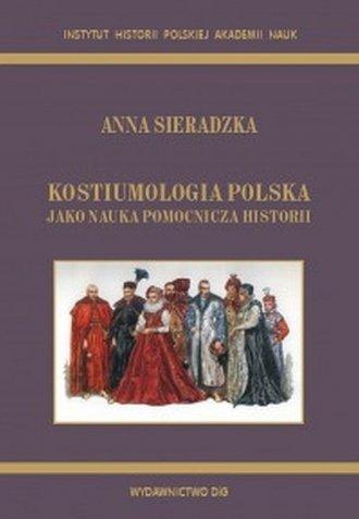 Kostiumologia polska jako nauka - okładka książki