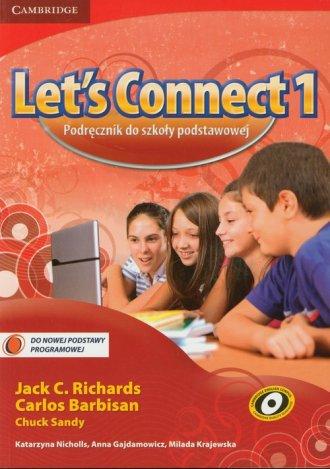 Lets Connect 1. Język angielski. - okładka podręcznika