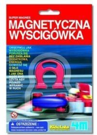 Magnetyczna wyścigówka - zdjęcie zabawki, gry