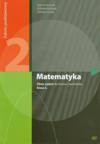 Matematyka 2. Zbiór zadań. Zakres - okładka podręcznika