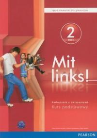 Mit Links! 2. Język niemiecki. - okładka podręcznika