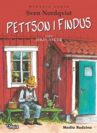Pettson i Findus (CD mp3) - Sven Nordqvist - pudełko audiobooku