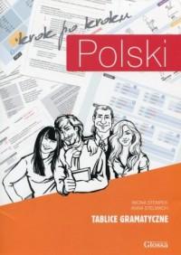 Polski krok po kroku. Tablice gramatyczne - okładka podręcznika