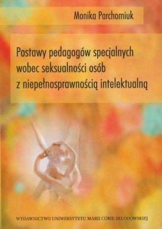 Postawy pedagogów specjalnych wobec - okładka książki