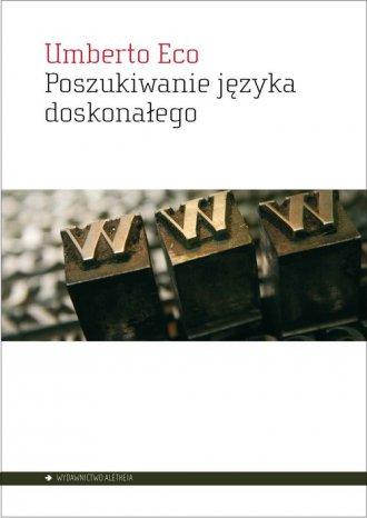 Poszukiwanie języka doskonałego - okładka książki