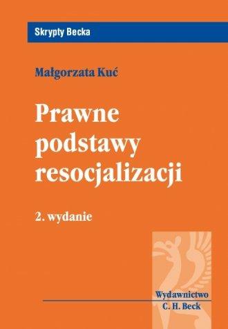 Prawne podstawy resocjalizacji. - okładka książki