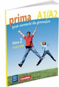 Prima A1/A2. Język niemiecki. Klasa 2. Gimnazjum. Podręcznik - okładka podręcznika