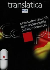 Translatica. Przenośny słownik niemiecko-polski polsko-niemiecki (pendrive) - pudełko programu