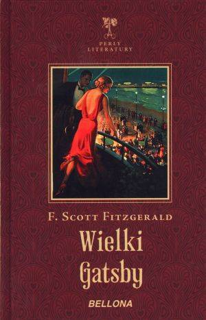 Wielki Gatsby - okładka książki