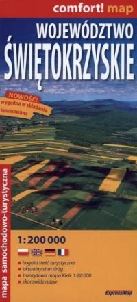 Województwo Świętokrzyskie laminowana - okładka książki