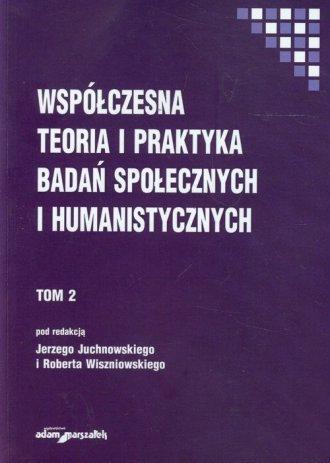 Współczesna teoria i praktyka badań - okładka książki