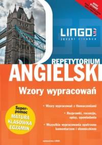 Angielski. Wzory wypracowań. Repetytorium - okładka podręcznika