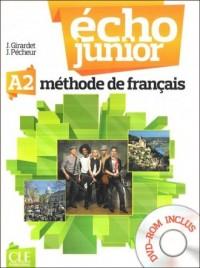 Echo Junior A2. Język francuski. Podręcznik (+ DVD ROM) - okładka podręcznika