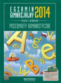 Egzamin gimnazjalny 2014. Przedmioty - okładka podręcznika