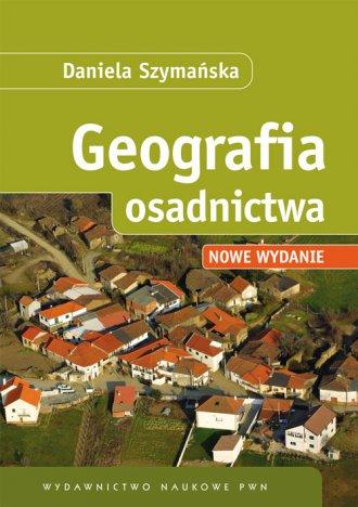 Geografia osadnictwa - okładka książki