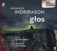 Głos (CD mp3) - Arnaldur Indridason - pudełko audiobooku