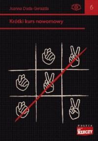 Krótki kurs nowomowy - okładka książki