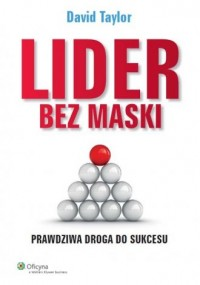 Lider bez maski - okładka książki