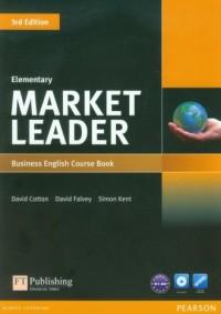 Market Leader. Elementary Business English Course Book (+ DVD) A1-A2 - okładka podręcznika